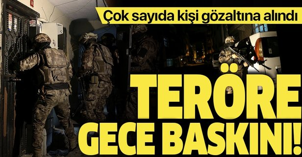 İstanbul'da PKK/KCK'ya yönelik operasyon