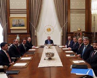 Başkan Erdoğan, Yerli Otomobil Konsorsiyumu temsilcilerini kabul etti