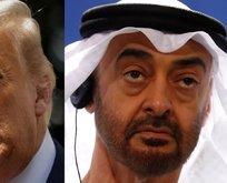 Trump ile BAE Prensi'nden Orta Doğu görüşmesi