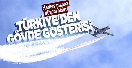 Atatürk Havalimanı'nda nefes kesen gösteri! TEKNOFEST rüzgarı tüm hızıyla sürüyor