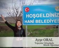 Hani'de İstiklal Marşı'nı Afrin'deki Mehmetçik için seslendirdiler