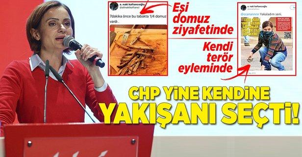 CHP'li Kaftancıoğlu'nun eşinin domuz ziyafeti