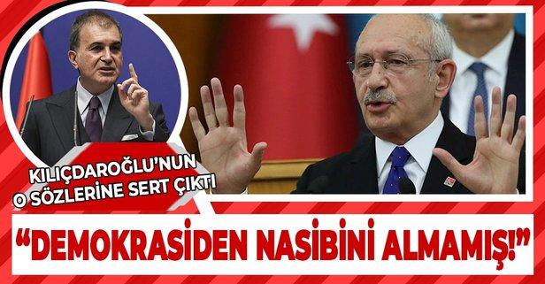 Kılıçdaroğlu'na sert yanıt