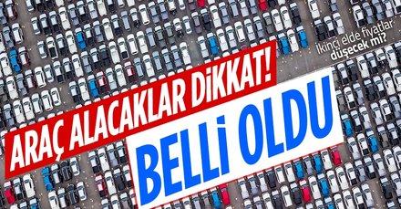 Sahibinden 2. el araba alacaklar dikkat! İkinci el araba fiyatları düşecek mi? Yıl sonunda etkisi...