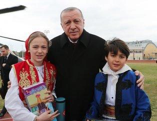 Edirne'de Başkan Erdoğan coşkusu