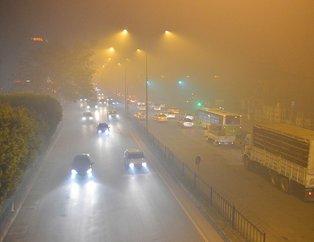 Adana'da sis nedeniyle uçak seferleri iptal edildi