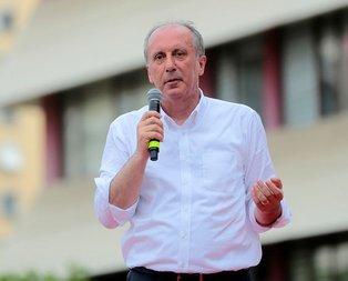 CHPde liste krizinden sonra Muharrem İnceden manidar açıklama