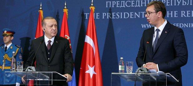 Sırp mevkidaşından Erdoğan'a övgü