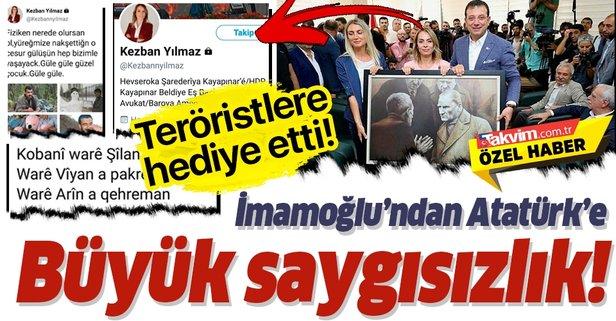 Ekrem İmamoğlu'ndan Atatürk'e büyük saygısızlık!