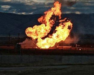 Türkiye-İran doğalgaz boru hattında patlama