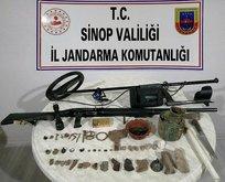 Sinop'ta tarihi eser operasyonu