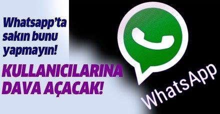 Whatsapp'ın yeni kuralları ortaya çıktı! Sakın bunu yapmayın! WhatsApp milyonlara dava açıyor!