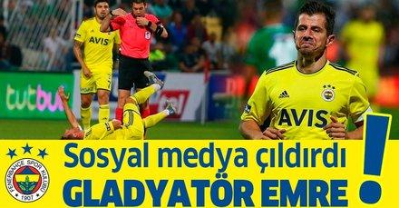 Fenerbahçe'nin 3 puanla döndüğü Denizlispor deplasmanına Emre Belözoğlu damgası
