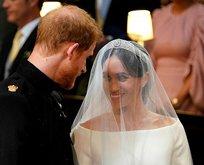 İşte Prens Harry ve Meghan Marklenin düğününden kareler