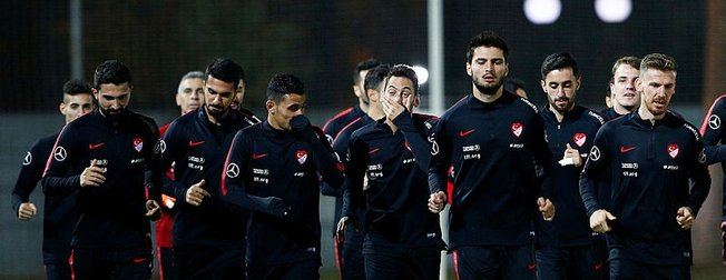 Türkiye A Milli Futbol Takımı'nın aday kadrosu açıklandı
