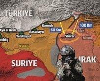 Türkiye, Sincar'daki PKK'yı kıskaca aldı