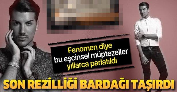 Sözde fenomen Kerimcan Durmaz'dan büyük skandal!