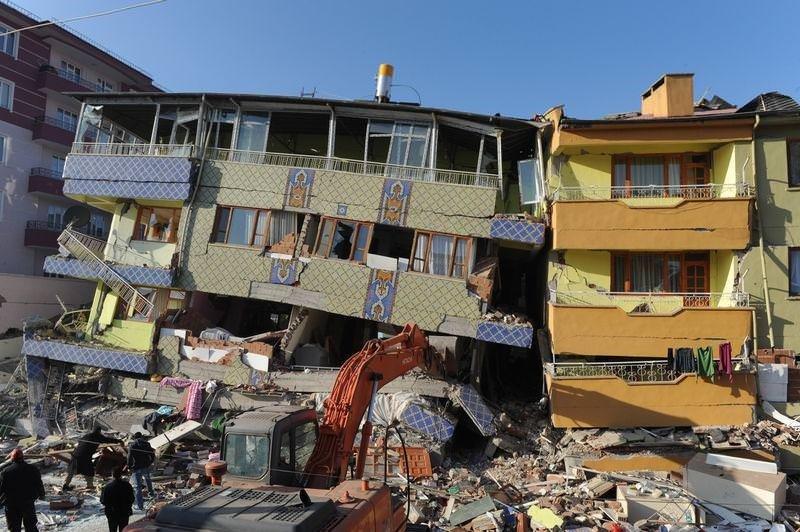 Depremin ardından Van