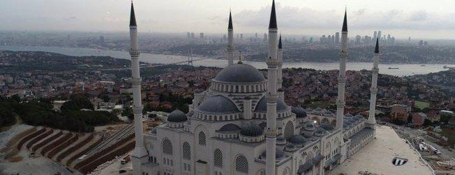 Çamlıca Camii'nde sona geliniyor