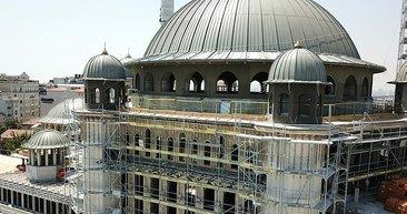Taksim Camii ve AKM inşaatında son durum! İşte havadan görüntüler...