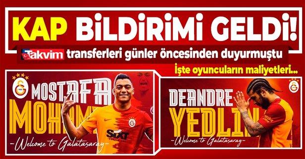 Galatasaray transferi resmen açıkladı!