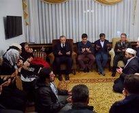 Erdoğan'dan şehit Tümgeneral'in ailesine taziye ziyareti