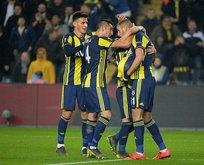 Ve Fenerbahçe'nin kadrosu belli oldu