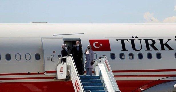 Başkan Erdoğan Brüksel'de