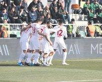 Antalyaspor baskın yaptı