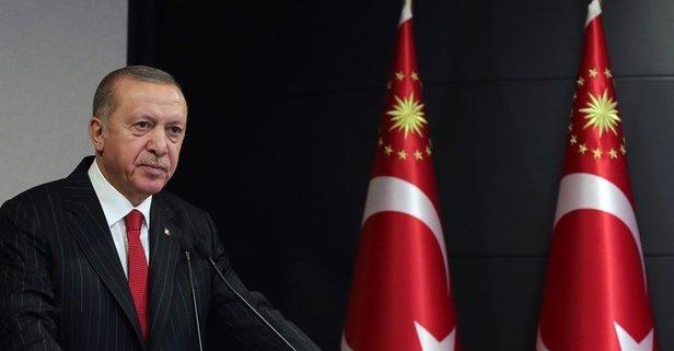 Başkan Erdoğan'dan tebrik mektubu
