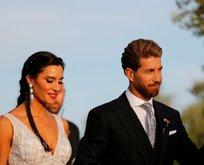 Ramos'un düğünde skandal! Çırılçıplak...