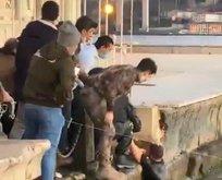 Özel Harekat polisinden filmleri aratmayacak kurtarış