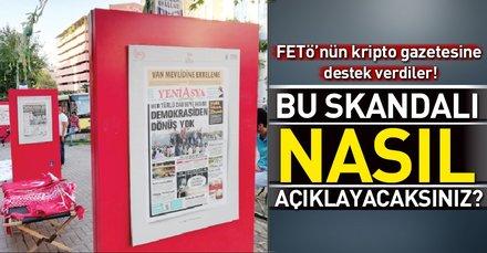 Bursa Büyükşehir Belediyesi ve Basın İlan Kurumundan Yeni Asya rezaleti!