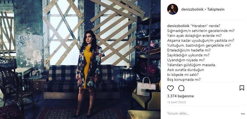 Ünlülerin Instagram paylaşımları (27.10.2017)