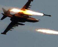 Rus savaş uçakları İdlibi vurdu! İlk açıklama geldi