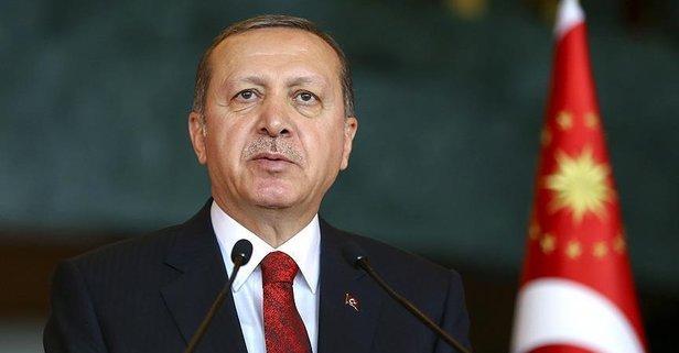 Başkan Erdoğan'dan şehit ailelerine taziye