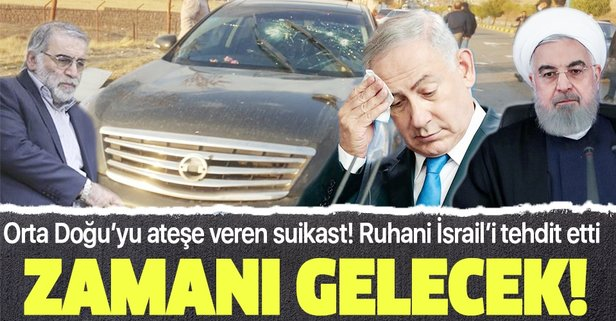 İran'da 'intikam' manşetleri!
