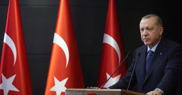 O rapor Başkan Erdoğan'a sunuldu