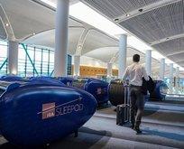 İstanbul Havalimanı'nda 'sleepod' uygulaması!