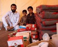 Türk Kızılayı'ndan İranlı selzedelere yardım eli