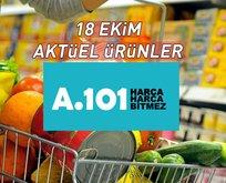 A101 18 Ekim aktüel ürünler: A101 aktüel ürünler kataloğu listesi sayfamızda!