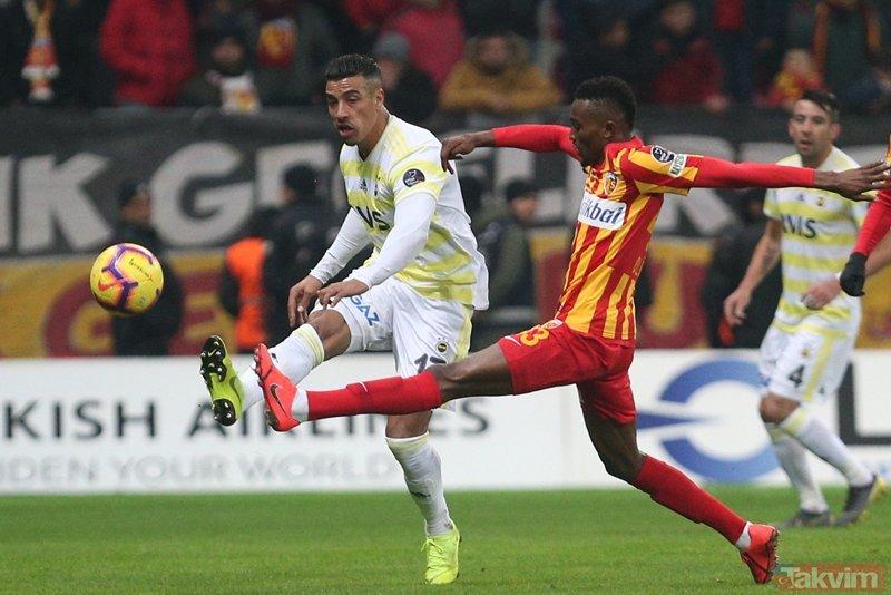 Fenerbahçe Kayseri'den eli boş döndü, taraftarlar çıldırdı!