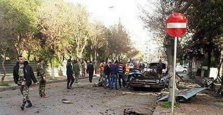 Son dakika... Şam'da Rusya Büyükelçiği yakınlarında patlama