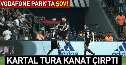 Kartal tura kanat çırptı (MS: Beşiktaş 3-0 Partizan)