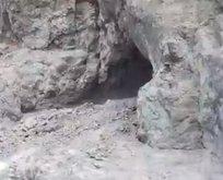 Irak'ta PKK'ya ağır darbe! Örgütün ini yok edildi