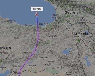 Rus ordusu Türk hava sahasını kullanmaya başladı