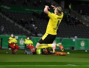 Almanya Kupası Borussia Dortmund'un oldu! İşte kutlamalardan kareler