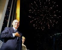 İşte Türkiyenin ilk Başkanı Erdoğanın tarihi konuşmasından kareler