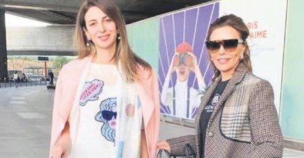 Feryal Gülman ile Beyza Uyanoğlu, yine tatile çıktı