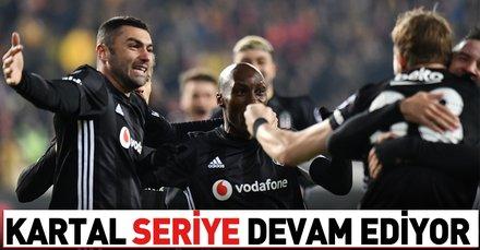 Beşiktaş seriyi 3 maça çıkardı | Evkur Yeni Malatyaspor 1-2 Beşiktaş